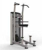 Силовой тренажер для фитнес клубов –спортзалов Aerofit Аерофит IE9520 - Подтягивание / Отжимание с п..., фото 1