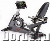 """Профессиональный горизонтальный велоэргометр Aerofit 9500R 7"""" LCD - Спорт товары - Маховик: 242 мм (..., фото 1"""