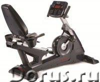 Профессиональный горизонтальный велоэргометр Aerofit 9900R - Спорт товары - Маховик: 242 мм (14.5 кг..., фото 1