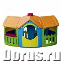 """Домик детский пластиковый """"Домик с двумя пристройками"""" Marian Plast - Детские товары - Большой вмест..., фото 1"""