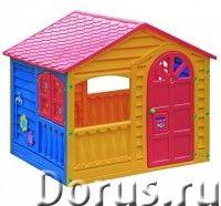 """Детский пластиковый домик """"Игровой"""" Marian Plast - Детские товары - Красочный и просторный домик для..., фото 1"""