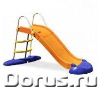 """Детская пластиковая горка """"Веселый спуск"""" Marian Plast - Детские товары - Яркая горка порадует Ваших..., фото 1"""