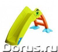 """Детская пластиковая горка """"Пеликан"""" Marian Plast - Детские товары - Благодаря веселым ярким цветам г..., фото 1"""
