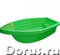"""Детская пластиковая песочница мини-бассейн """"Лодочка"""" Marian Plast - Детские товары - Песочница – бас..., фото 1"""