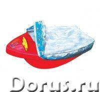 """Детская пластиковая песочница мини-бассейн """"Лодочка с покрытием"""" - Детские товары - Яркий прочный ба..., фото 1"""