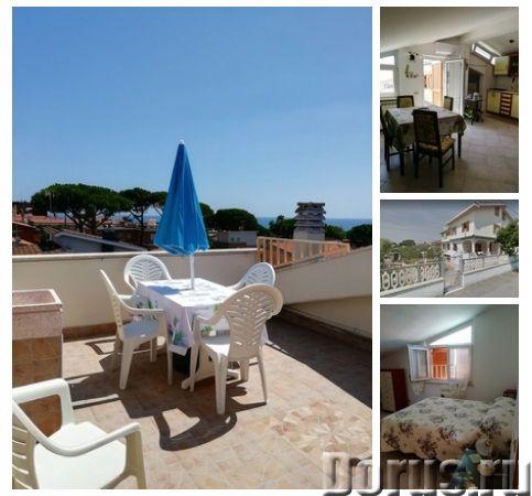 Аренда мансарды для отдыха в Анцио, Италия - Недвижимость за рубежом - Мансарда расположена на вилле..., фото 1