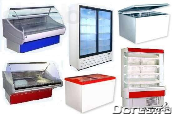 Бу холодильные витрины шкафы горки морозильные лари ванны камеры холодильные 8-10куб - Торговое обор..., фото 1